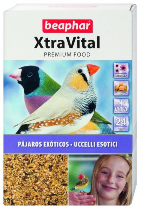 Krmivo Xtra Vital tropický pták 500g