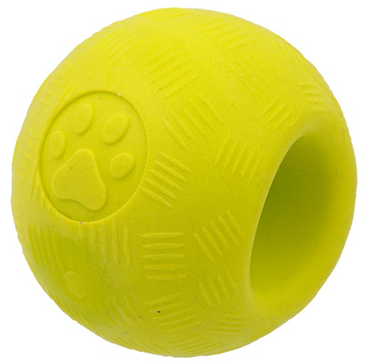 Hračka Dog Fantasy STRONG FOAMED míček guma 6,3cm