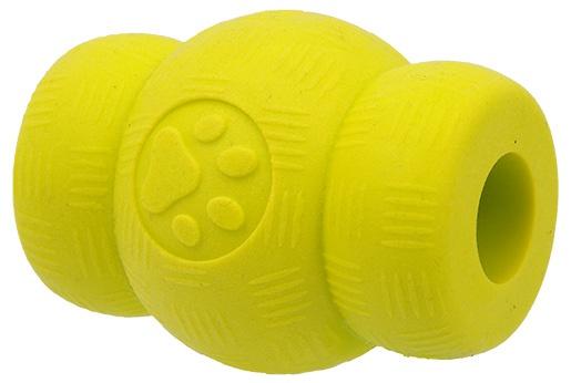 Hračka Dog Fantasy STRONG FOAMED soudek guma 6,9cm