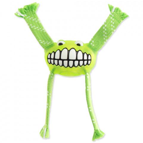 Hračka Rogz Flossy Grinz zelená 21cm