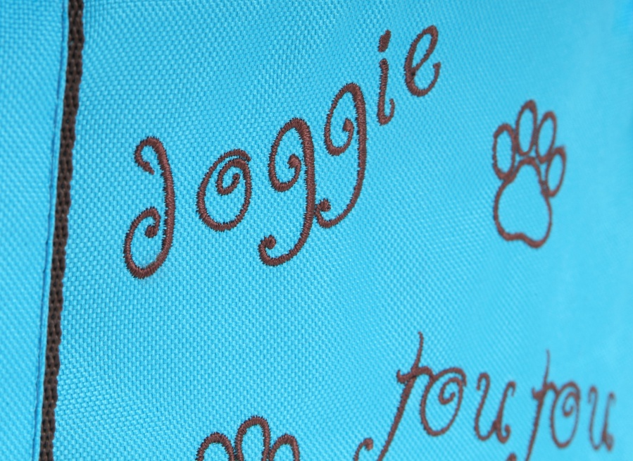 Taška Doggie modrá 40cm