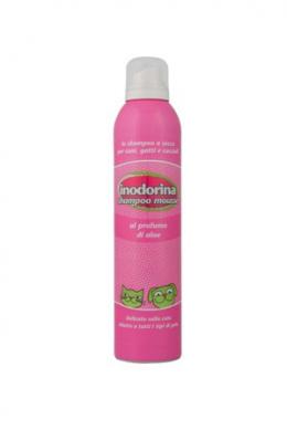 Šampon Inodorina suchá pěna Aloe Vera 300ml