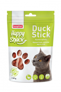 Pochoutka Happy Snack Cat kachní tyčinky 40g