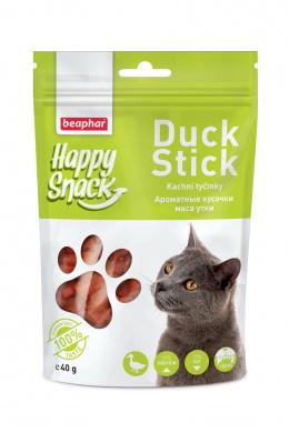 Pochoutka kachní tyčinky Beaphar Happy Snack Cat 40 g