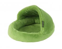 Pelíšek Papuče zelený pro hlodavce