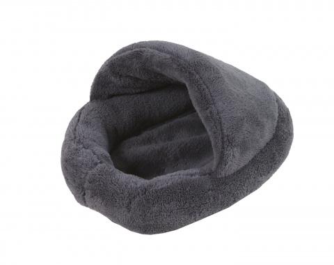 Pelíšek Papuče šedý pro hlodavce
