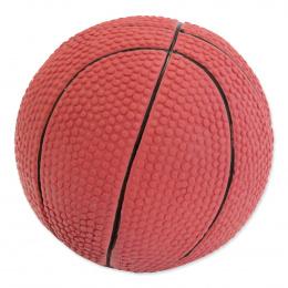Hračka Dog Fantasy Latex Basketball míč se zvukem 7.5cm