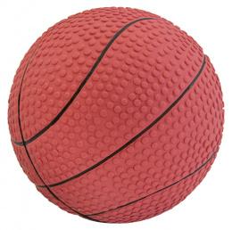 Hračka Dog Fantasy Latex Basketball míč se zvukem 10cm