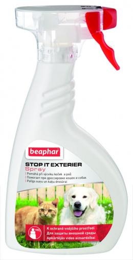 Výcvikový sprej Beaphar Stop It Exterier 400 ml