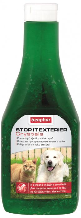 Venkovní odpuzovač psů a koček Beaphar Exterier Crystal 480 g