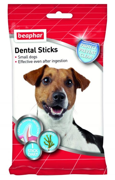 Dentální tyčinky Beaphar pro malé psy (5-10 kg) title=