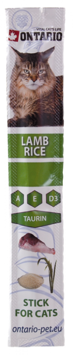 Ontario stick Lamb & Rice 5 g