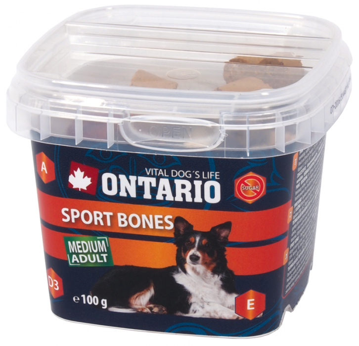 Ontario Snack Sport Bones 100 g