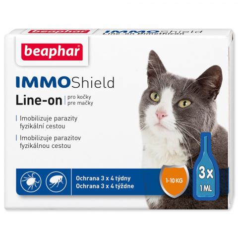Line-on Beaphar IMMO Shield pro kočky 3x1 ml title=