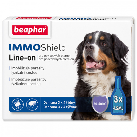 Line-on Beaphar IMMO Shield pes L 3x4,5 ml title=