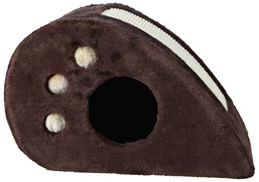 Škrábací domek Trixie myš Topi hnědý