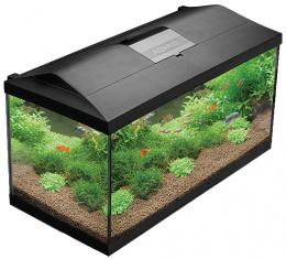 Akvárium set AQUAEL LEDDY PLUS LED 80 černé 105l