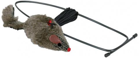 Hračka TRIXIE myš závěsná na dveře title=