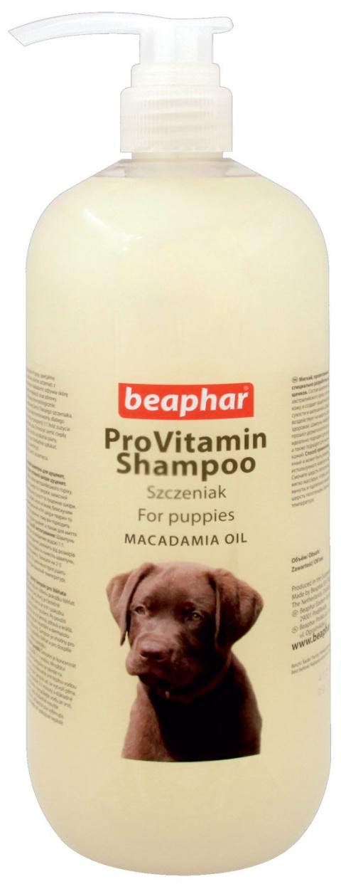 Beaphar šampon pro štěňata s makadamovým olejem 1l - krátká expirace