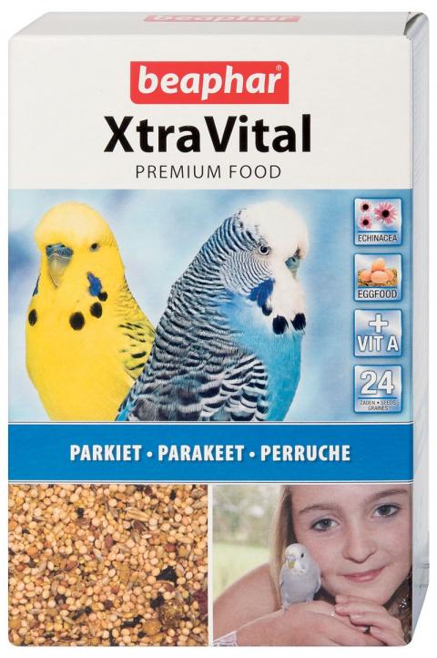 Krmivo BEAPHAR XtraVital pro andulky 500g - krátká expirace