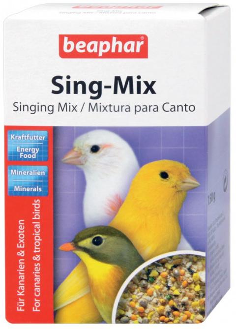 Krmivo doplňkové Beaphar Sing Mix 150g - krátká expirace
