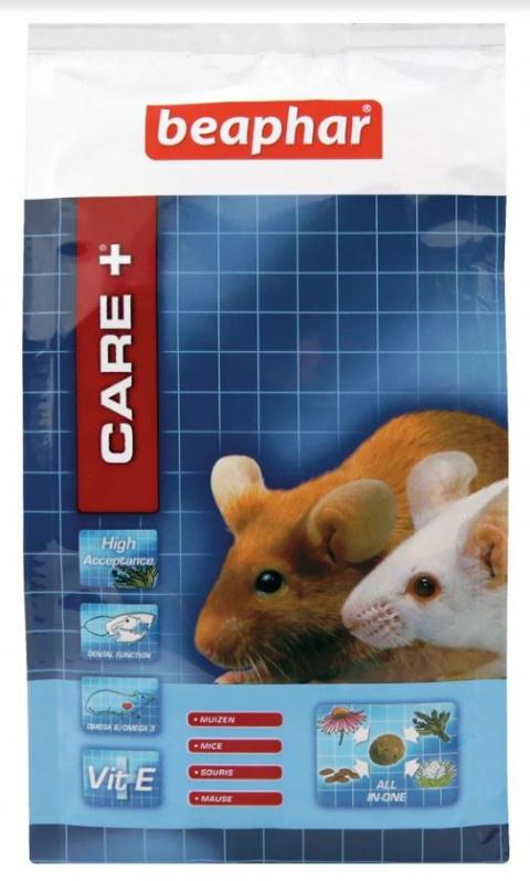 Krmivo CARE+ myš 250g - krátká expirace