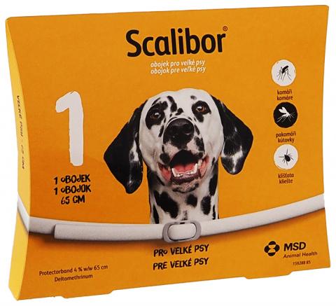 Obojek Scalibor antiparazitní velký 65cm title=