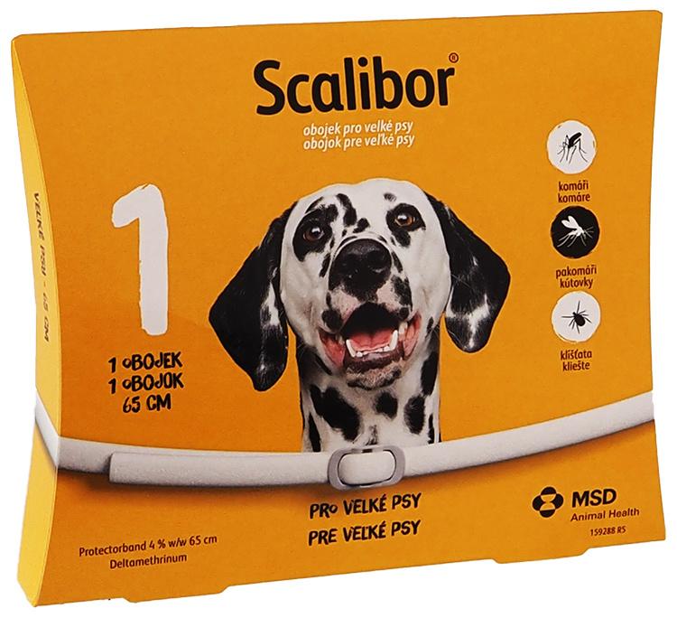 Obojek Scalibor antiparazitní velký 65cm