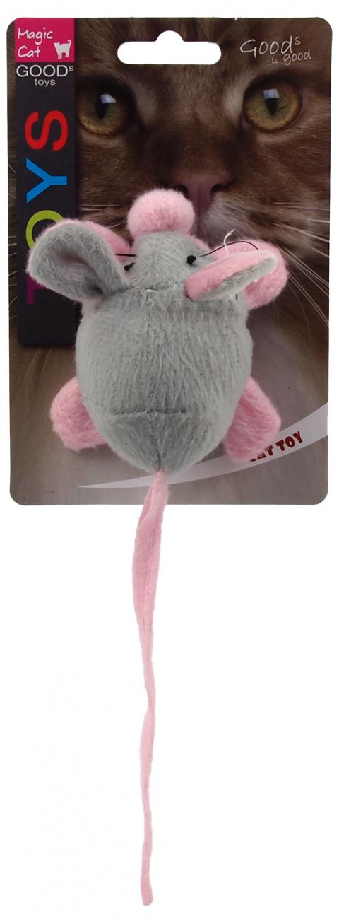 Hračka Magic Cat myška chrastící s catnip 22,5cm title=
