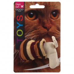 Hračka kočka v pytli s catnip 9cm