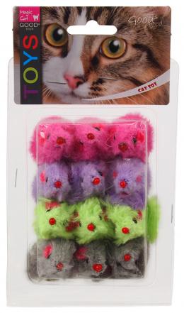 Hračka MAGIC CAT myšky plyšové s catnipem 11cm