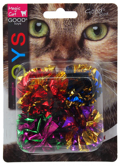 Hračka MAGIC CAT míček lesklý 3,75cm