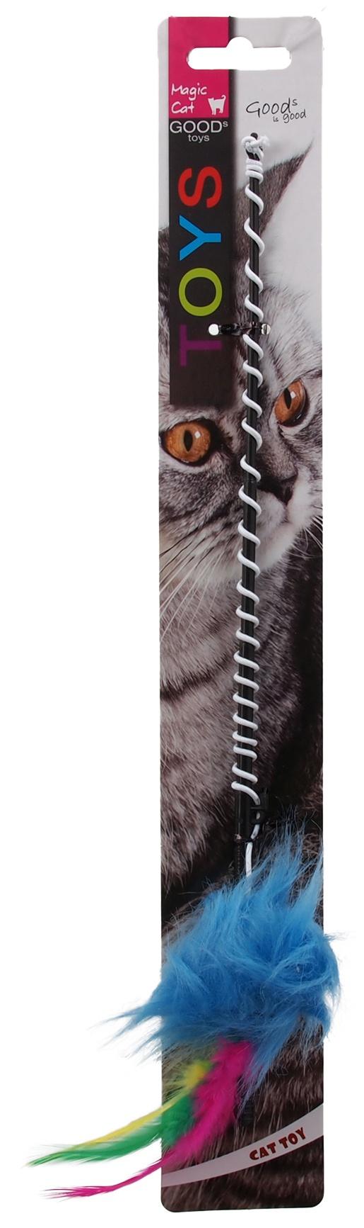 Hračka MAGIC CAT prut s myškou a ocáskem 30cm