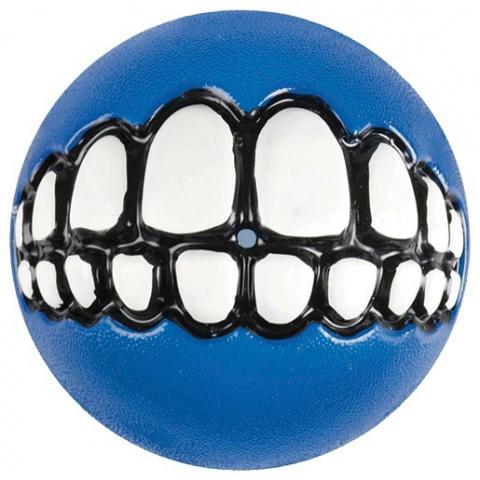 Hračka ROGZ míček Grinz modrý S