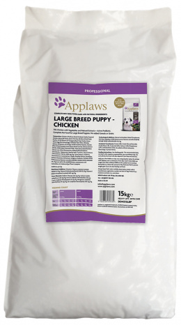 APPLAWS Dry Puppy Chicken Large Breed 15 kg