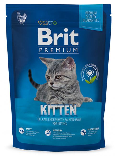 BRIT Premium Kitten 800g title=