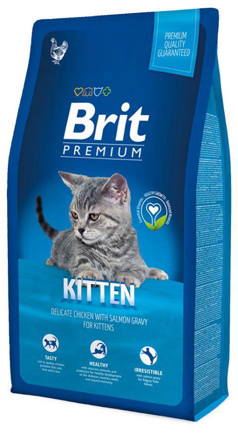 BRIT Premium Cat Kitten 8kg title=