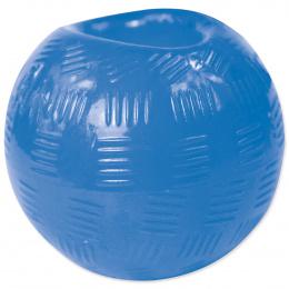 Hračka DOG FANTASY Strong míček gumový modrý 8,2cm