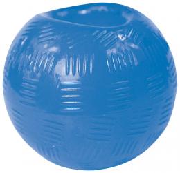 Hračka DOG FANTASY Strong míček gumový modrý 9,5cm
