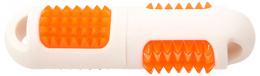Hračka Dog Fantasy TPR LED aport kolík bílá 19cm