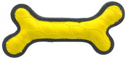 Hračka Dog Fantasy Rubber kost žlutá 24cm