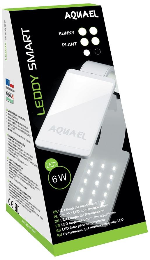 LED osvětlení AQUAEL Leddy Smart 2 Plant černé 6w