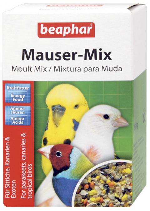 Krmivo BEAPHAR Moult Mix doplňkové 150g - krátká expirace