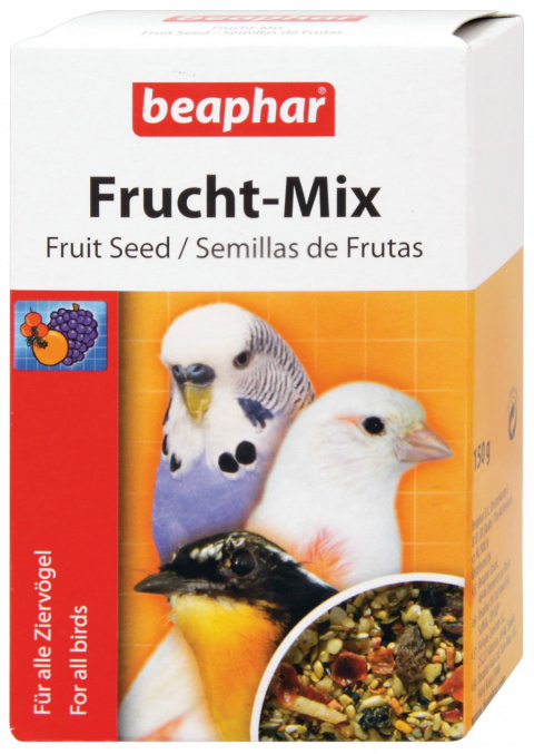 Krmivo BEAPHAR Fruit Mix doplňkové 150g - krátká expirace