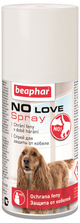 Sprej pro hárající feny Beaphar No Love 150 ml