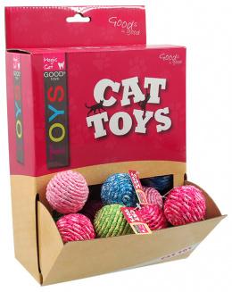 Hračka Magic Cat míček bavlna 4cm