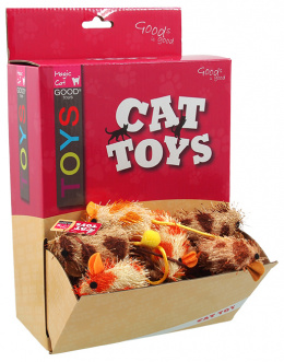Hračka Magic Cat myška plyš, bavlna s catnip 6cm