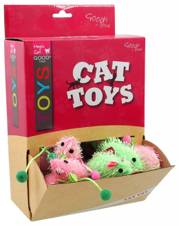Hračka Magic Cat myška plyš s catnip 7cm