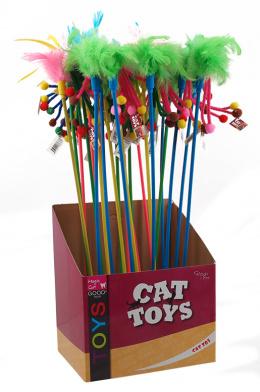 Hračka Magic Cat šidítko třásně bavlna 15cm+47cm