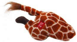 Hračka Dog Fantasy Silly Bums žirafa 30cm